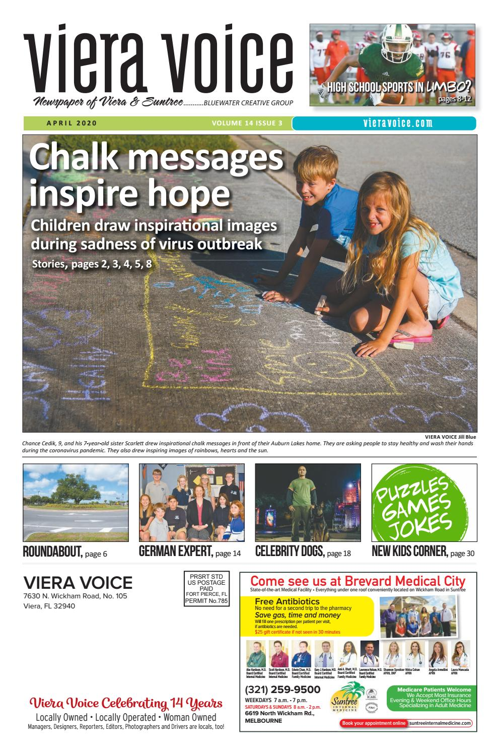 Viera Voice April 2020 By Bluewater Creative Group Issuu