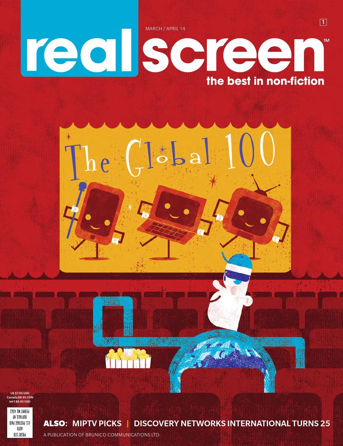 Realscreen - Mar/Apr 2014 by Brunico Communications - issuu