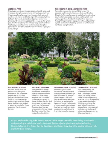 Page 71 of Go Green! Top 9 Green Spaces