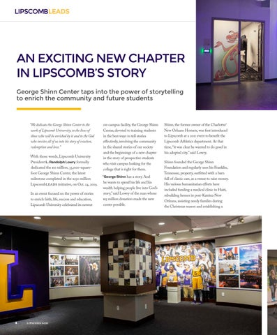 Page 6 of LipscombLEADS