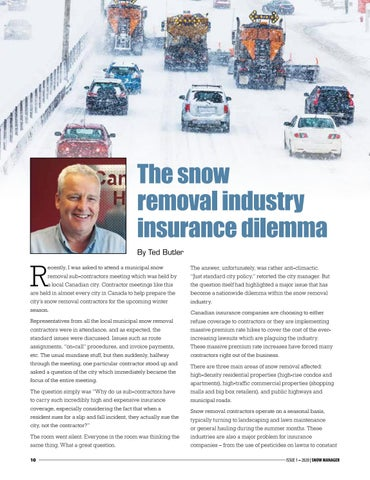 Page 10 of The snow removal industry insurance dilemma