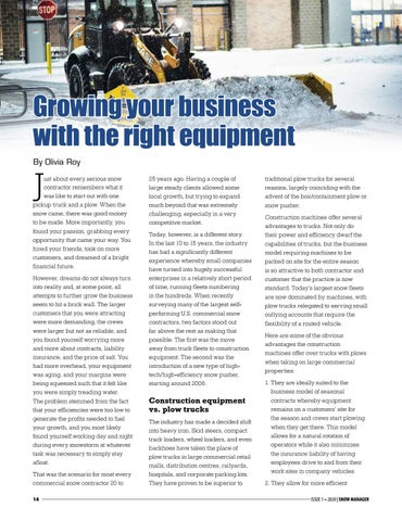 Page 14 of Growing your business with the right equipment