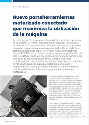 Page 26 of Nuevo portaherramientas motorizado conectado que maximiza