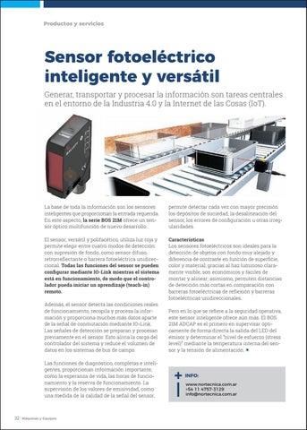 Page 34 of Sensor fotoeléctrico inteligente