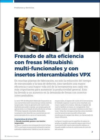 Page 8 of Fresado de alta eficiencia con fresas Mitsubishi