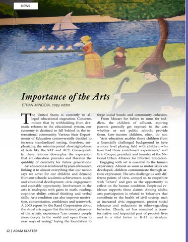 Page 12 of ARTS EDUCATION