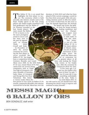 Page 6 of LIONEL MESSI