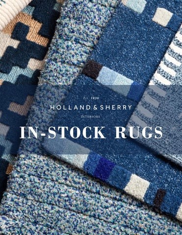 Stock Rug Catalogue By Holland Sherry