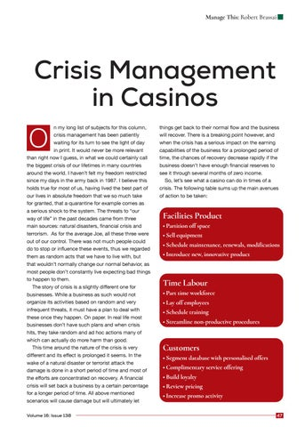 Page 47 of Crisis Management in Casinos
