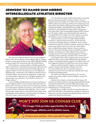 Page 32 of Cougar News