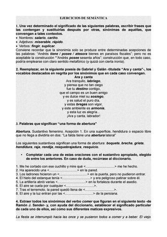 Ejercicios Resueltos De Semántica By Micaela Gonzalez Issuu