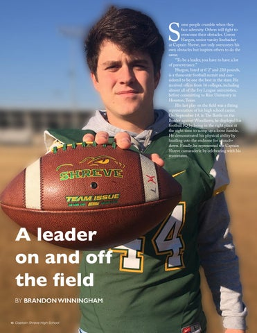 Page 10 of A leader on and off the field