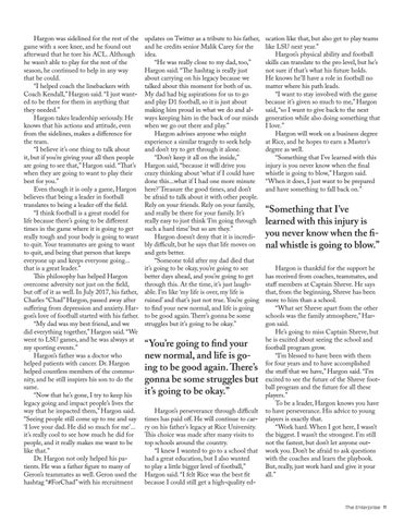 Page 11 of A leader on and off the field
