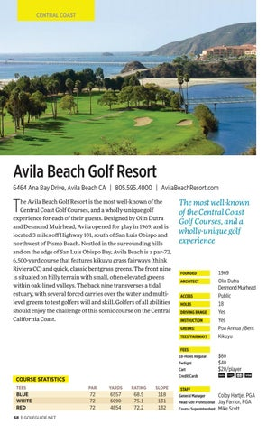 Page 68 of Avila Beach Golf Resort