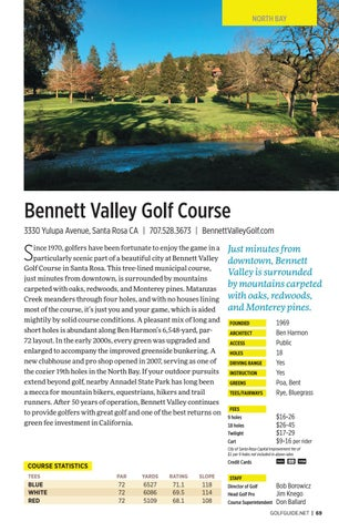 Page 69 of Bennett Valley Golf Course