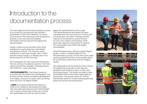 Page 8 of Introduction to the documentation process