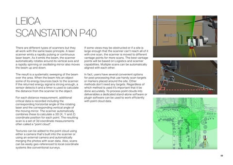 Page 9 of Leica ScanStation P40
