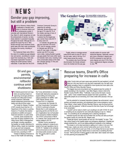 Page 18 of News: Gender pay gap improving, but still a problem
