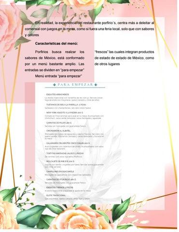 Page 25 of Restaurante porfirio´s