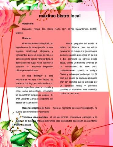 Page 36 of Restaurante Maximo bistro