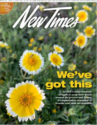 New Times March 26 2020 By New Times San Luis Obispo Issuu