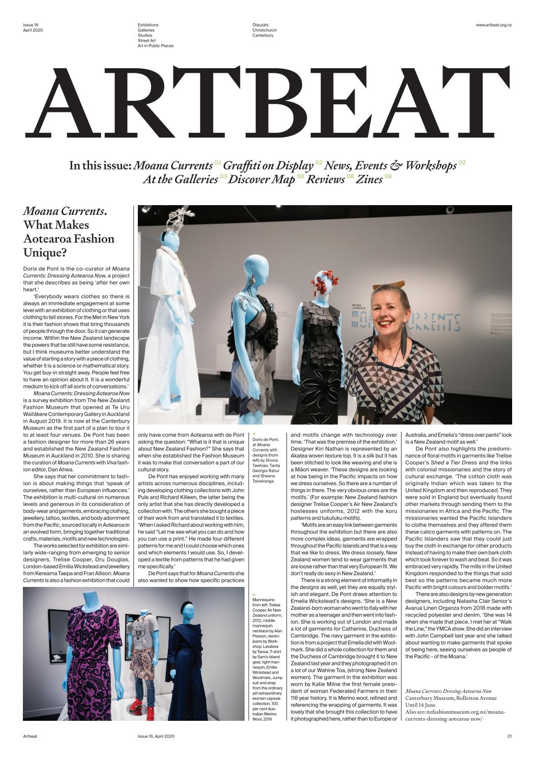 Artbeat April 2020 No 16 By Warrenfeeney Issuu