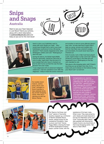 Page 10 of SNIPS AND SNAPS AUSTRALIA