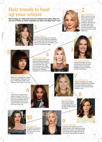 Page 15 of HAIR TRENDS TO HEAT UP YOUR WINTER