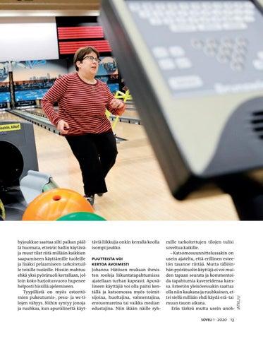 Page 13 of Esteetön liikuntapaikka palvelee kaikkia