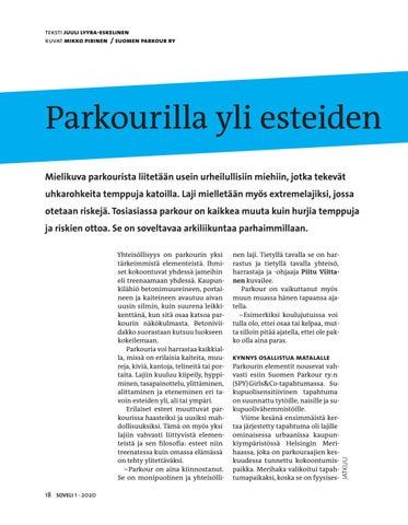 Page 18 of Parkourilla yli esteiden