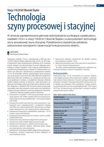 Page 17 of Technologia szyny procesowej i stacyjnej
