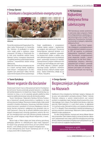 Page 5 of INFORMACJE ZE SPÓŁEK