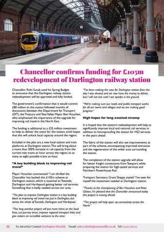 Page 22 of Funding for Darlington railway station