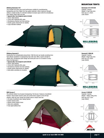 Page 11 of Mountain Tents