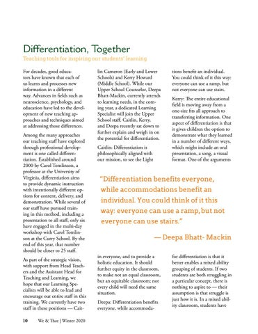 Page 10 of Differentiation, Together
