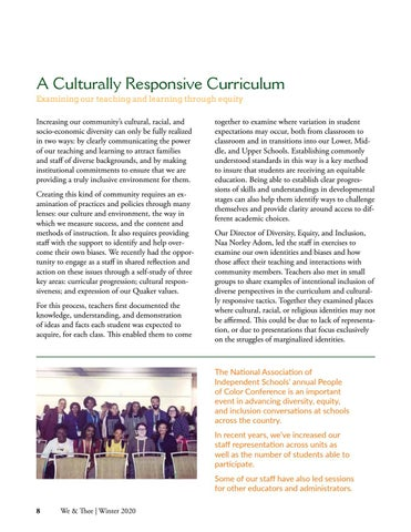 Page 8 of A Culturally Responsive Curriculum