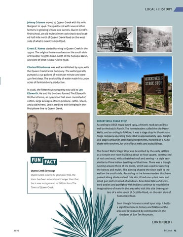 Page 15 of Queen Creek History
