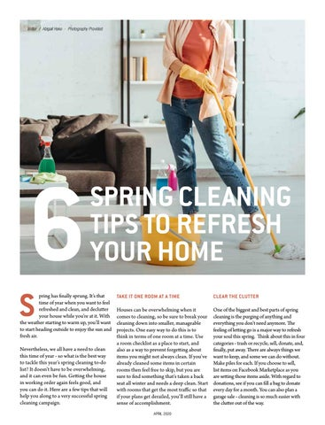 Page 26 of 6 Spring Cleaning Tips to Refresh Your Home