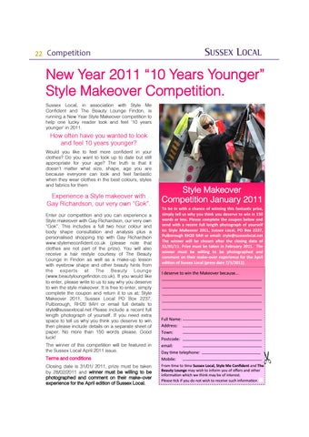 Page 22 of Win a Style Makeover
