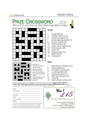 Page 28 of Prize Crossword