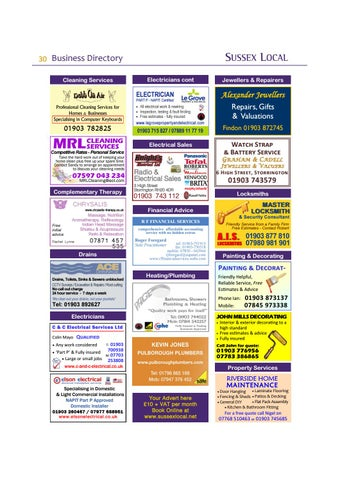 Page 30 of Advertiser Index