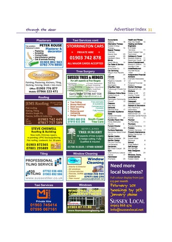 Page 31 of Advertiser Index