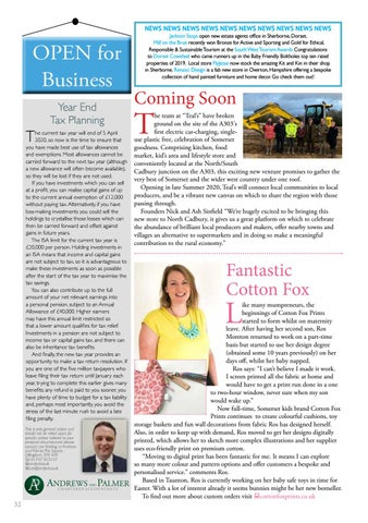 Page 32 of 33 Open for Business - Business news and views in your area