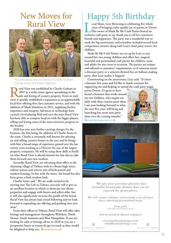 Page 33 of 33 Open for Business - Business news and views in your area
