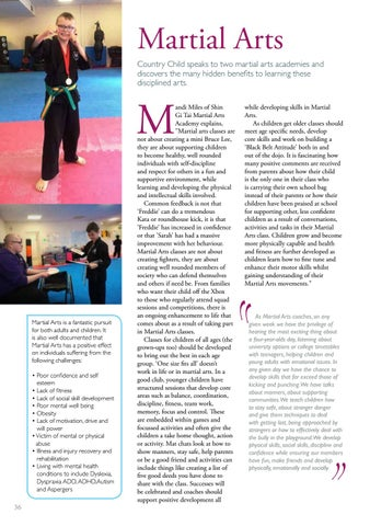 Page 36 of 37 Martial Arts - The hidden benefits of this ancient art