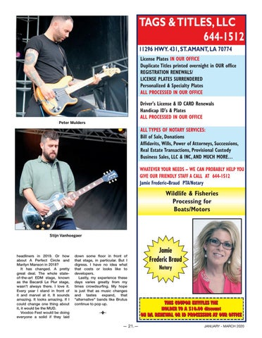 Page 21 of Voodoo Fest 2019
