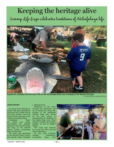 Page 22 of Swamp Life Expo
