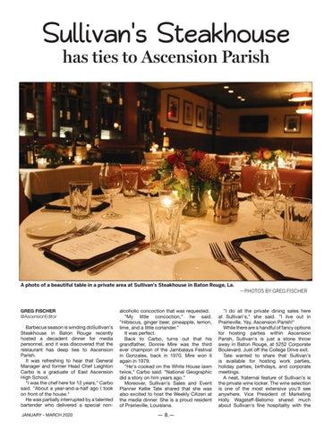 Page 8 of Sullivan's Steakhouse