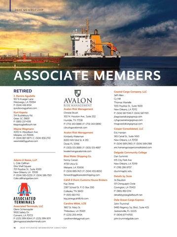 Page 18 of Associate Members