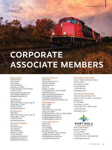 Page 21 of Corporate Associate Members
